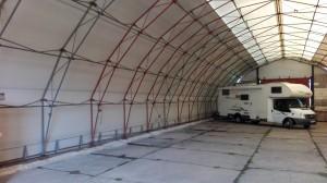 hangárové sklady